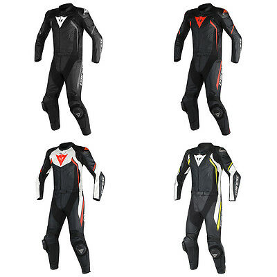 Dainese Avro D2 Motorcycle Standard Two Piece Leather Suit All Colours & Sizes