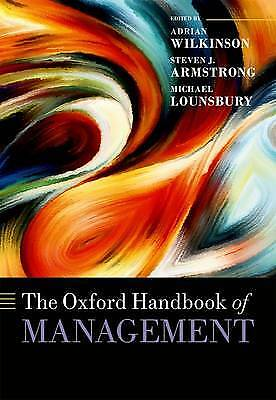 The Oxford Handbook of Management, Adrian Wilkinson