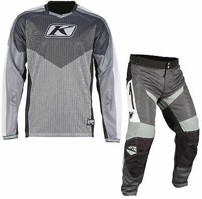 Klim Grey/Black Mens Mojave Dirt Bike Jersey & Mojave ITB Pants MX ATV 2018