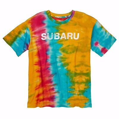 Subaru Tie Dye Tee T Shirt Official Genuine Forester Outback Sti Legacy WRX NEW