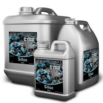 Cyco Platinum Silica Hydroponics Nutrient | Stronger Hardier Stem Leaves