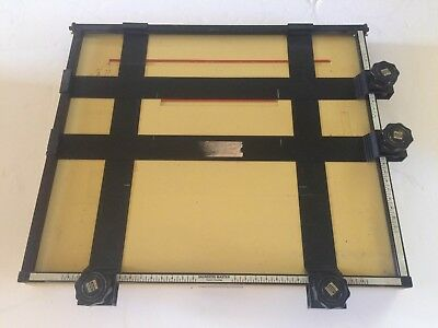Saunders Easel 16 x 18.5 Master Photographic Darkroom Enlarging 4 Blade
