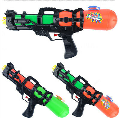 AU Boys Kids Super Soaker  Shooter Water Gun Pistol Pump Spray Squirt Outdoor