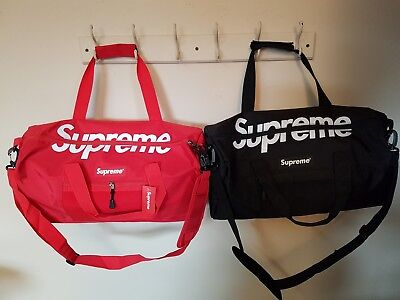 Supreme Duffle Duffel Gym Bag Pack Classic Logo Best Quality Fast US Shipping