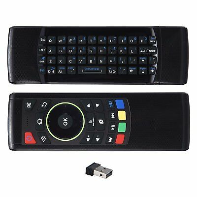 Wireless Remote Control Keyboard Air Mouse 2.4G For Android Mini PC XBMC 2017 AU