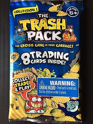 TRASH PACK Collection 1 Trading / Collector Cards. BRAND NEW. 8 Cards Per Pack!
