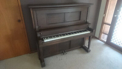 Upright Piano Quality American M Schulz Co