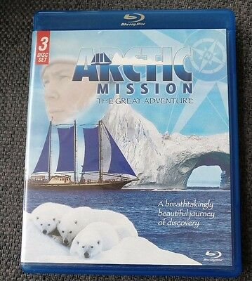 Arctic Mission the Great Adventure Blu Ray 3 pack