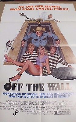 """Off the Wall (1983). Rosanna Arquette  Movie Poster 41"""" x 27""""  K7.30"""