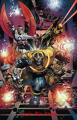 Thanos #10 (2017) 1St Printing Bagged & Boarded Marvel