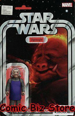 Star Wars #35 (2017) 1St Printing Christopher Action Figure Variant Cover