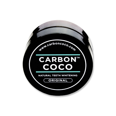 CARBON COCO Activated Charcoal Teeth Whitening Powder Polish (Sample 15g)