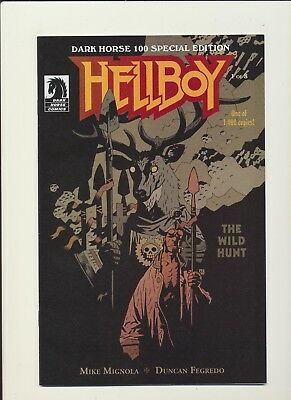 Hellboy The Wild Hunt DH 100 Special Ed 1:1000 Variant RARE! SEE PICS AND SCANS!