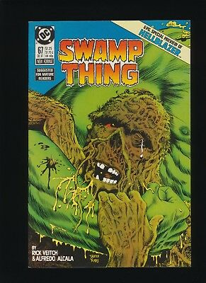 SWAMP THING #67 (DC Comics 1987)! HELLBLAZER Preview! SEE PICS AND SCANS! WOW!