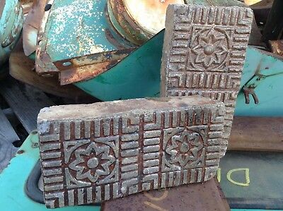 Antique / Vintage Nelsonville Brick Company Salt Glazed Star Sidewalk Brick (s)