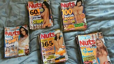 Nuts Magazine Bundles (6 Issues each)