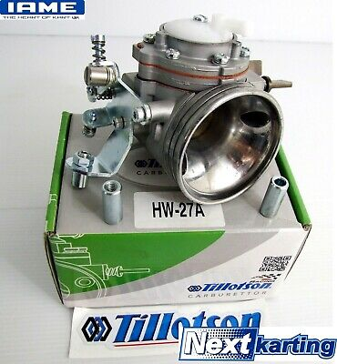Iame X30 Carburettor Complete Tillotson HW 27 A Carb NextKarting