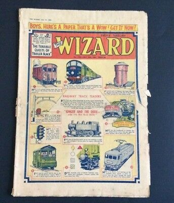 Vintage The Wizard  comic July 1960 No. 1796