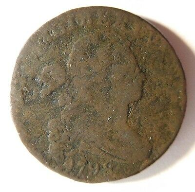 1798 Draped Bust Cent S-179 R-2