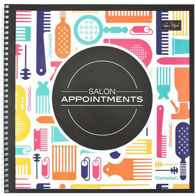 Bk-08801 Barber Salon Beauty Marianna Appointment Book 6 Column - 100 Pg