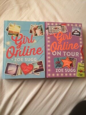 Girl Online And Girl Online On Tour Zoella Book Bundle RRP: £12.99 each