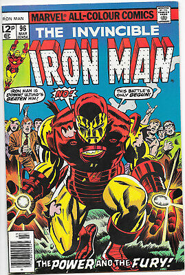 Invincible Iron Man #96 Marvel Comics 1st 1st Appearance of Guardsman VF