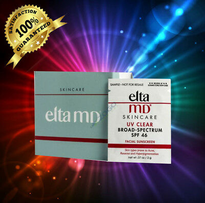 Elta MD UV  SPF 46, 40 SAMPLES!l 2g/each, Exp 11/19 Fresh