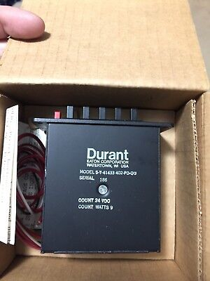 **NEW**Durant 5-Y-41433-402-PD-Q Predetermined Counter Eaton
