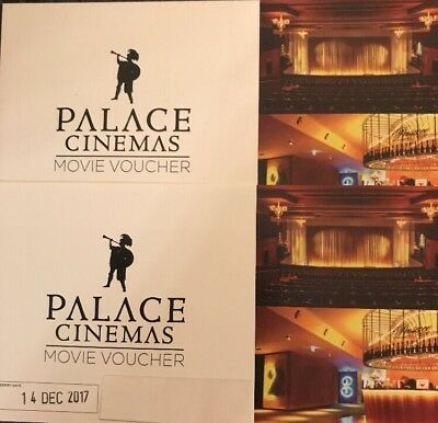 Two Palace Movie Tickets, Adult, - Valid For Any Standard Session