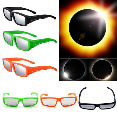 1pc Brille Sonnenfinsternis Sonnenfinsternisbrille Solar Eclipse Viewer Neu