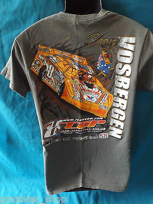 Speedway Racing Late Model   8  Craig Vosbergen    Mens T Shirt Size S
