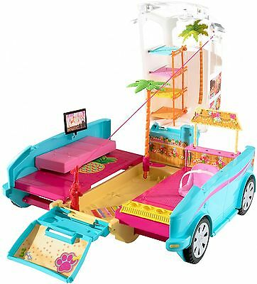 Barbie Ultimate Puppy Mobile Transforming Toy Girl Playset Doll Accessories Kids