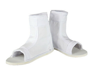 Naruto Shippuden Cosplay Costume Accessory Male White Ninja Shoes Sandals US #7