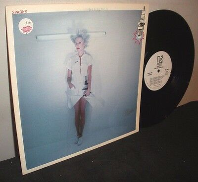Sparks ‎– No. 1 In Heaven - PROMO - White Label - Condition (LP/Sleeve): EX/EX