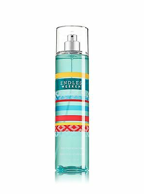 BATH & BODY WORKS Endless Weekend Fine Fragrance Body Spray Mist Made USA