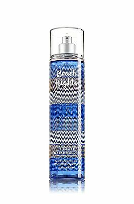BATH & BODY WORKS Beach Nights Summer Marshmallow Fragrance Body Spray Mist