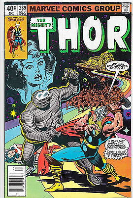 Thor #289 Bronze Age Marvel Comics US CENT COPY Roy Thomas VF