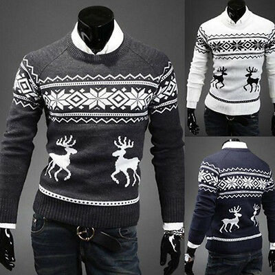 Xmas Mens Ladies Novelty Christmas Sweater Retro Vintage Unisex Womens Jumper