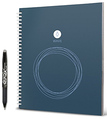 "Rocketbook Wave Smart Notebook ,WAV-S,9.5"" x 8.5"" NEW"