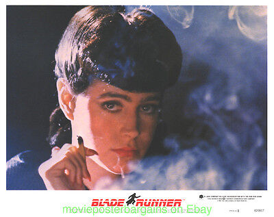 BLADE RUNNER LOBBY CARD size MOVIE POSTER Mint Complete set of 8 HARRISON FORD