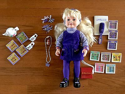 Playmates Amazing Ally Interactive Doll with accessories and add ons COMPLETE