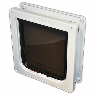Cat Mate 4 Way Locking Cat Flap for UPVC Doors 235w