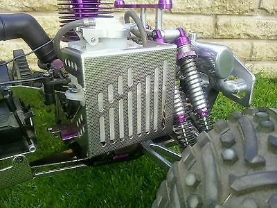 Hpi Savage 25/21/X Custom Chequered Stainless Guard