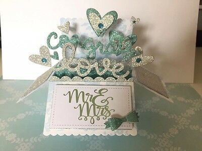 3D Pop Up Wedding Card - Unique - Can Be Personalised