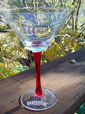 Beefeater - Red Stem Martini Glass