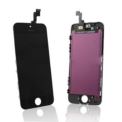 Apple iPhone 5S Replacement LCD Screen Digitiser Assembly A1457 A1533 BLACK