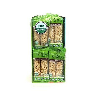 C0890 Organic Brown Rich Crunchy Rice Rollers 16- 2 Packs