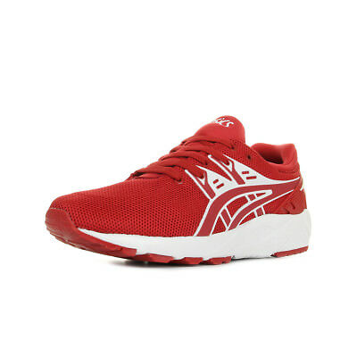 b779658988f Chaussures Baskets Asics homme Gel Kayano Trainer Evo taille Rouge Textile
