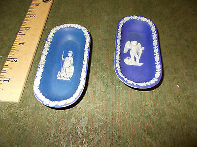 Antique Wedgwood Pin Trays 1800 and 1890
