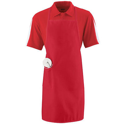 Augusta 2070 Long Apron With Pockets